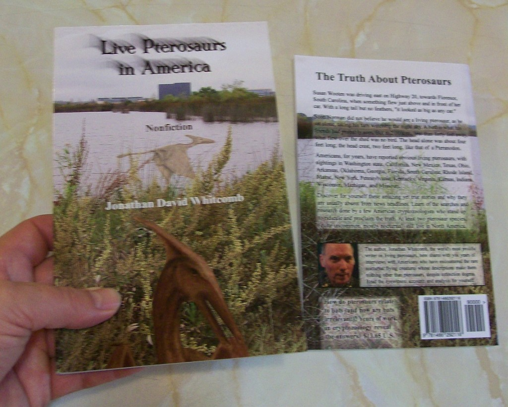 Third edition of the cryptozoology book Live Pterosaurs in America